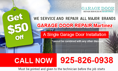 Amazing Money Save Coupon. Our Coupon | Garage Door Repair Martinez, CA