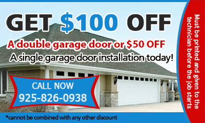 Garage Door Repair Martinez coupon - download now!